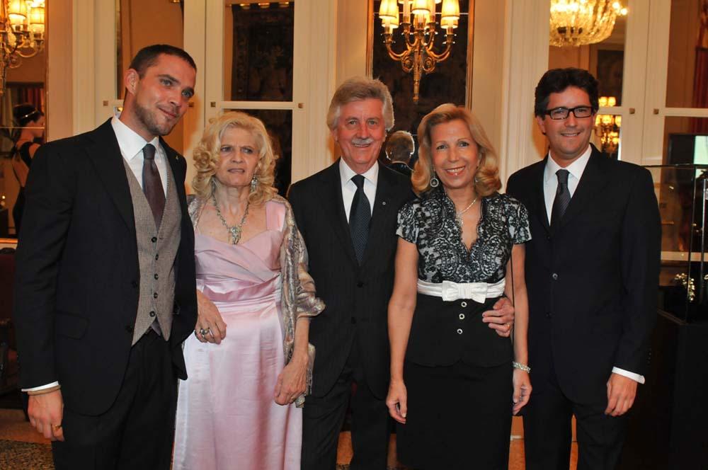 Emanuele, Marina, Guido, Paola Gabriele Pennisi