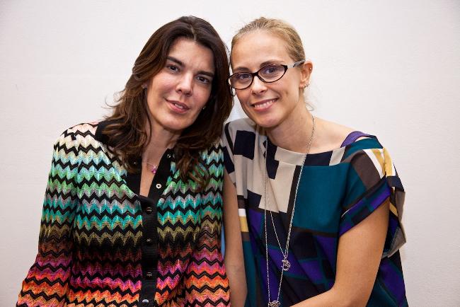 Francesca Moratti e Paola Mattei