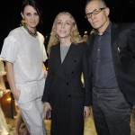Alessandra Facchinetti, Franca Sozzani e Pietro Negra