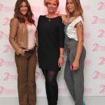 Francesca Severi con Melita Toniolo e Guendalina Canessa