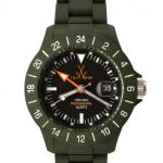 ToyWatch Jet Lag verde militare