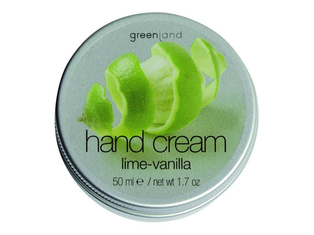 hand cream lime