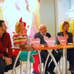 Fabriano Fabbri, Agatha Ruiz de la Prada, Elio Fiorucci e Federica Muzzarelli