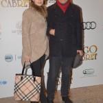 Federica Vincenti e Michele Placido