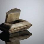 Ox horn snuff-box, 1912