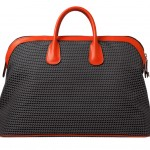 Valextra_K-Val Travel Bag Fabric and calfskin orange