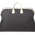 Valextra_K-Val Large Travel Bag Fabric and calfskin pergamena