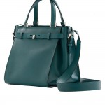 Valextra B-Cube bag teal