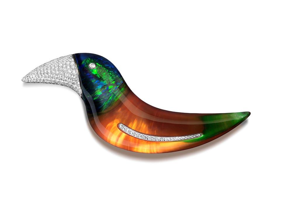 Vhernier Spilla Tucano