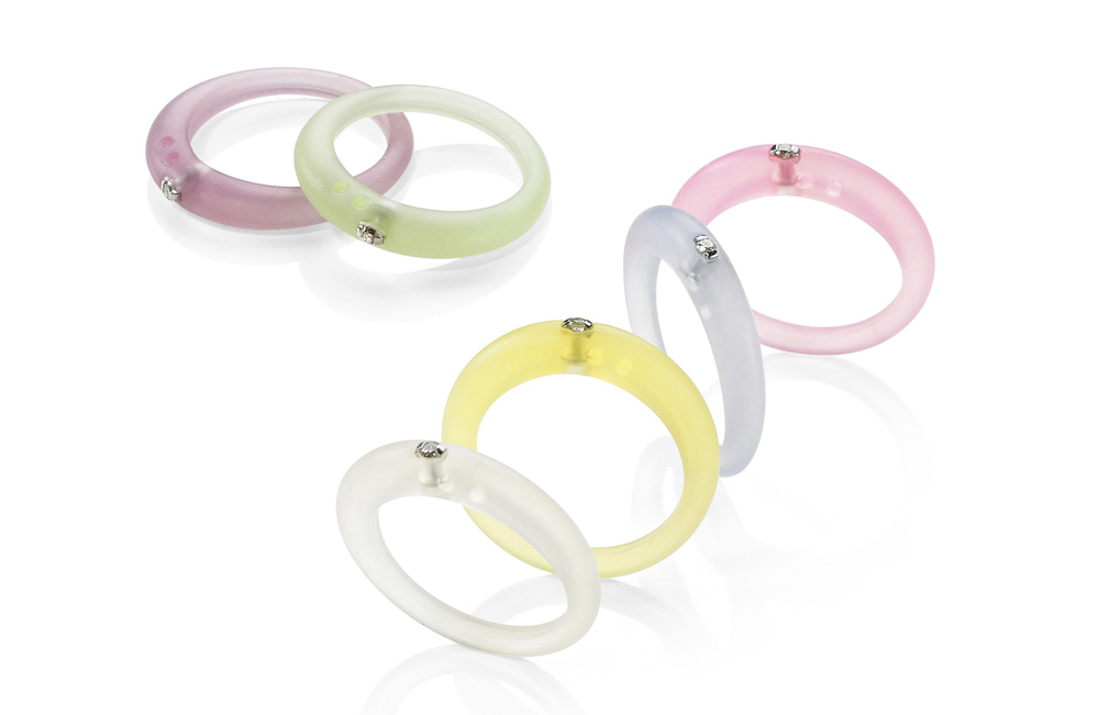 Duepunti anelli fluo