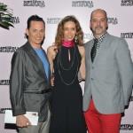 Charles Fegen, Laura Morino Teso e Desmond Lingard