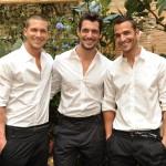 Adam Senn, David Gandy e Enrique Palacios