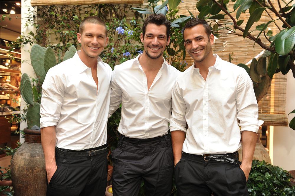 Adam Senn, David Gandy e Enrique Palacios
