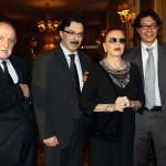 Alberto Litta, Alessandro Trani, Milva e Stefano Franzese
