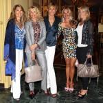 Manuela Rossi, Laura Spelta, Nicoletta Fontana, Donata Berger e Rosy Massari