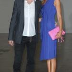 Convivio12 Manuel Facchini (Art Director Byblos) e Nadege in Byblos