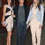 Convivio12_Sara Cavazza con il marito Mathias Facchini (CEO Swinger Int) e Ivana  Mrazova in Byblos