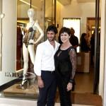 Corinne Clery con il fidanzato