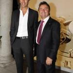 Davide Oldani e Rene Arnoux