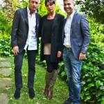 Giorgio Restelli, Alessia Sottile e Francesco Moreschi
