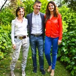 Laura Gervasoni, Francesco Moreschi e Chiara Pisa