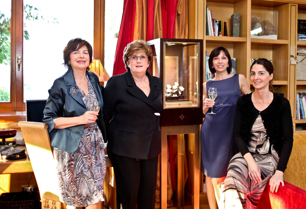 Maristella Pisa, Ileana Pisa, Laura Gervasoni e Chiara Pisa