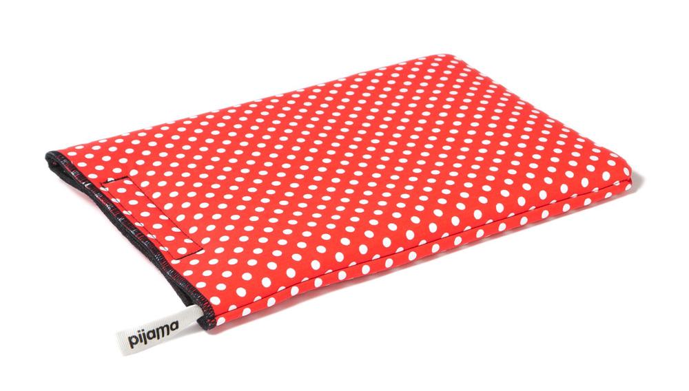 Pijama iPad dotty red