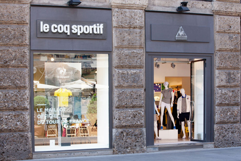 le coq sportif Milano