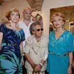 Francesca Severi, Elena Loro Piana, Alessandro e Maria Grazia Severi