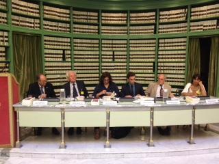Luigi Compagna, Alberto Asor Rosa, Irene Bignardi, Simone Ferrari, Stefano Passigli e Fania Cavaliere