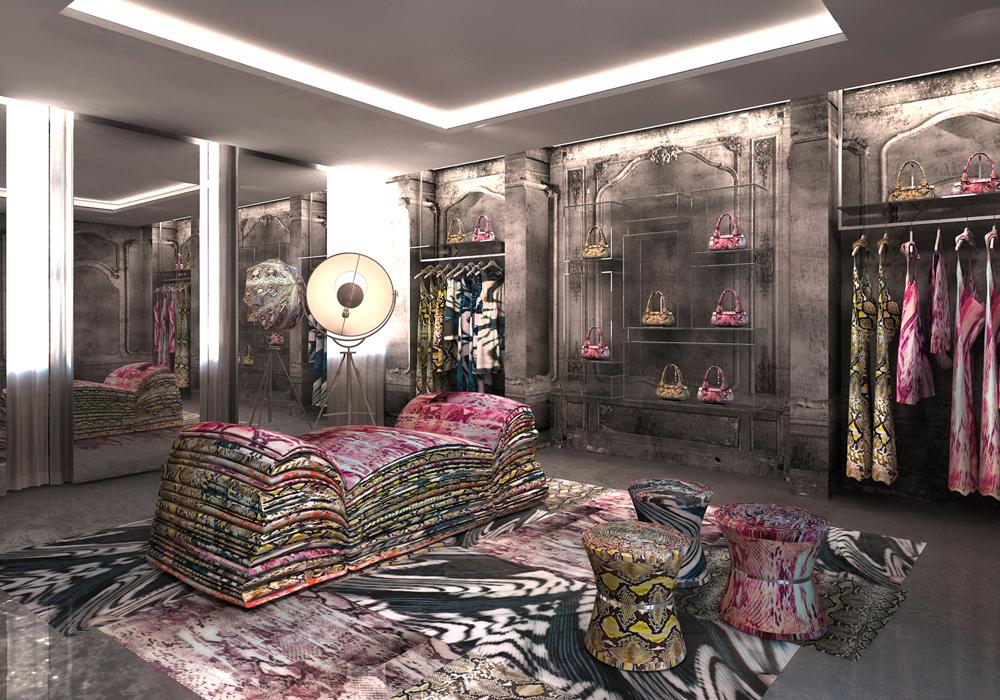 Just Cavalli Flagship Store Milan