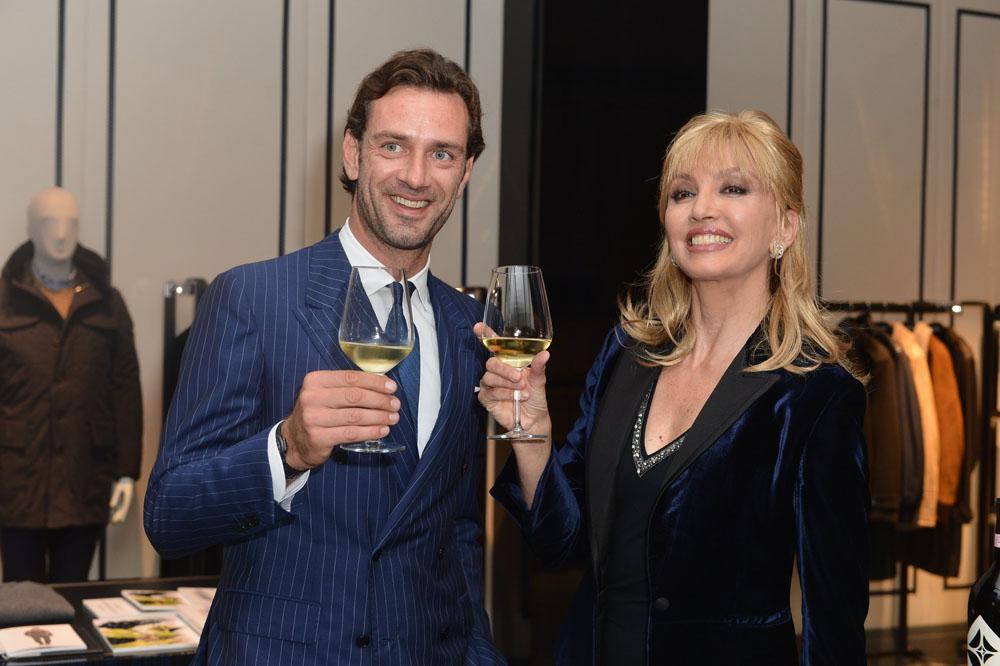 Guglielmo Miani e Milly Carlucci