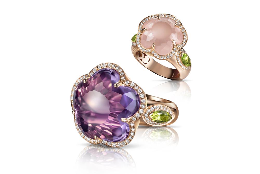 Bon Ton rings Pasquale Bruni