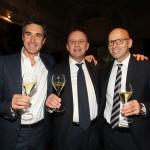 Ettore Nicoletto, Dante Bonacina e Stefano Capelli