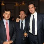 Luca Marzotto, Sebastiano Barisoni e Ettore Nicoletto