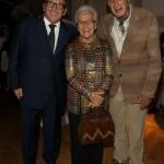 Maurizio Zanella, Rosita Missoni e Ottavio Missoni