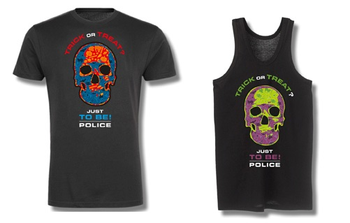 Police promozione Halloween
