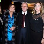 TITTI QUAGGIA, ANNAMARIA BERNARDINI DE PACE, VITTORIO FELTRI E MARIALUISA TRUSSARDI