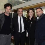 Carlo Mazzoni, Roberto Briccola, Francesca Versace e Marco Lucarelli