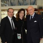 Roberto Briccola, Francesca Versace e Mario Boselli