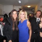 Manuela Arcuri e Matilde Brandi nei camerini
