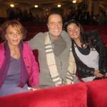 Gianni Nazzaro con la Moglie Nada e la Figllia Giorgia