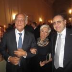 Roma - Anna Fendi, Giuseppe Tedesco e Cesare San Mauro
