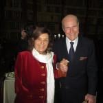 Roma - Il Ministro Paola Severino  con Umberto Veronesi
