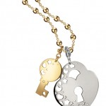 LeMonde2013_chiave e lucchetto gold&silver