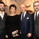 Pierfrancesco Favino, Juliette Binoche, Giuseppe Santoni e Beppe Fiorello