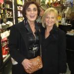 Jacqueline Zana Victor con Sandra Cioffi