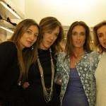 Annaliza Ianzito, Monica e Laura Moretti insieme ad Ana Cristina Nasi