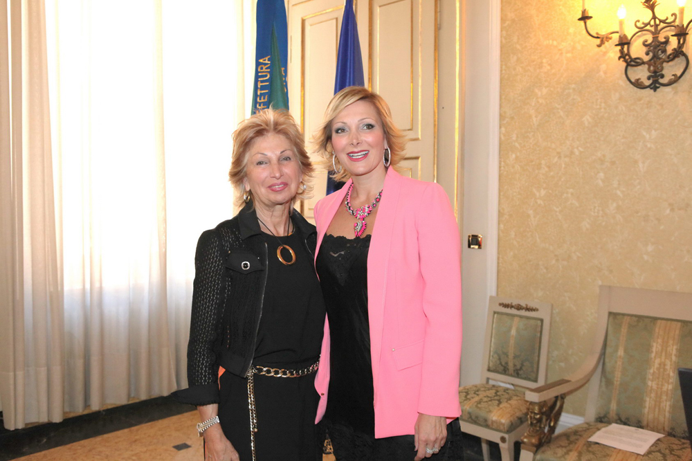 Maria Grazia Severi e Francesca Severi - foto di Benny Benevento
