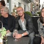 Federico con i papà di Eleonora